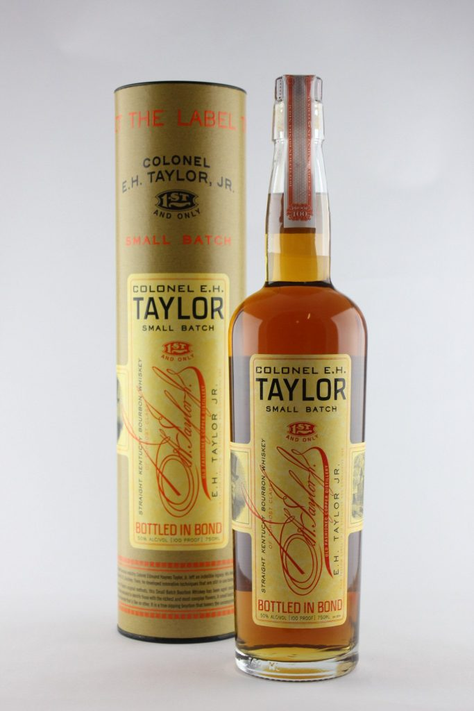 Gourmet gifts for Father's Day: EH Taylor Small Batch Bourboon