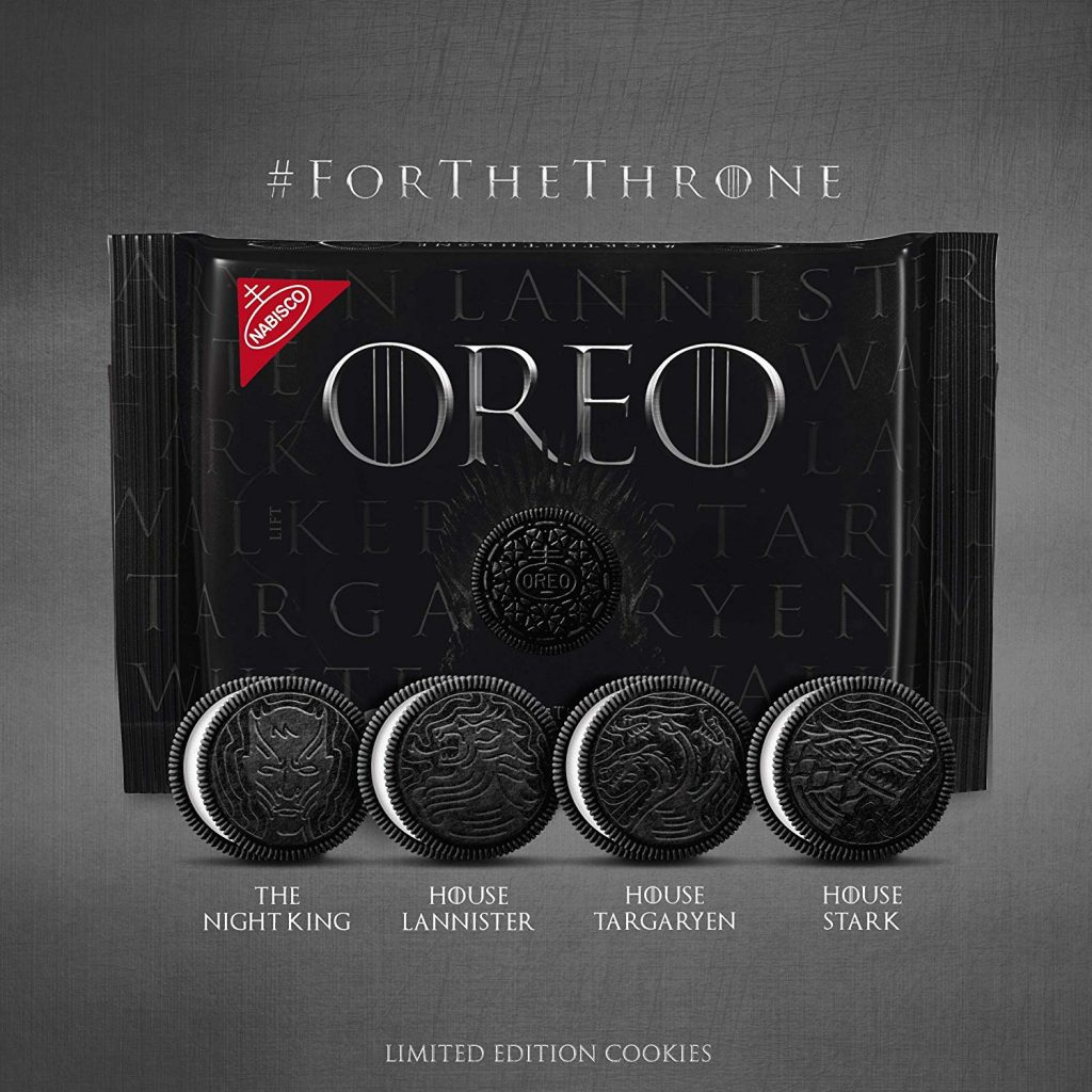 Game of Thrones Desserts: Limited Edition GoT Oreos | More: Cool Mom Eats