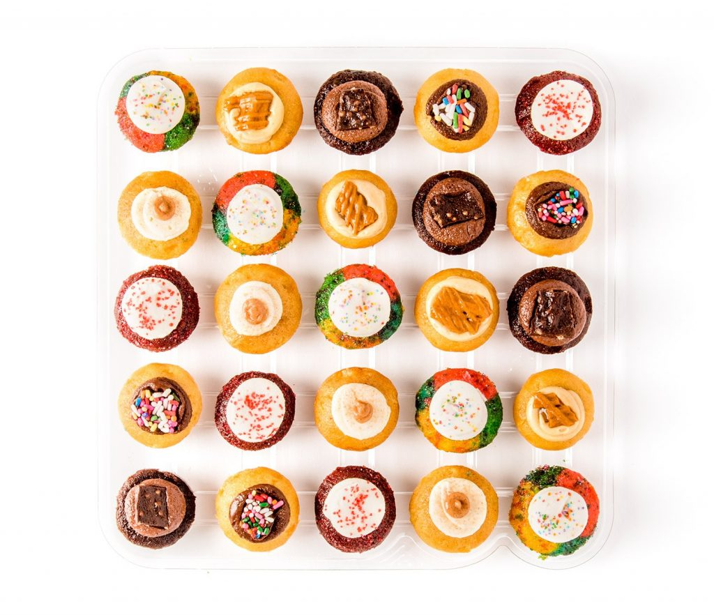 Gourmet gifts for dads: Gluten-free cupcake gift box from Baked by Melissa, for the GF Dad