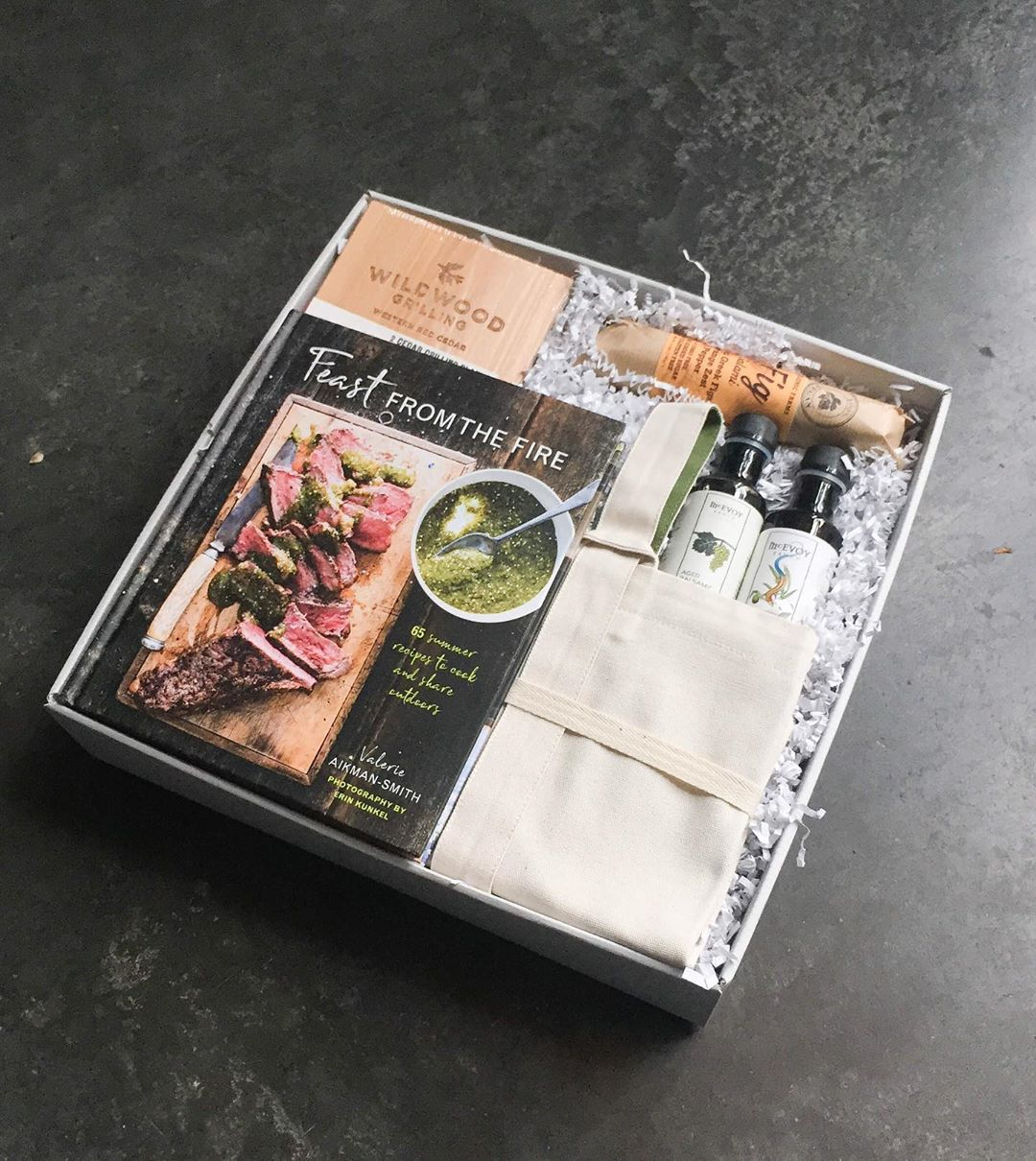 Gourmet Father's Day gifts: Build-your-own foodie gift box at knack and make it as specific as you'd like!