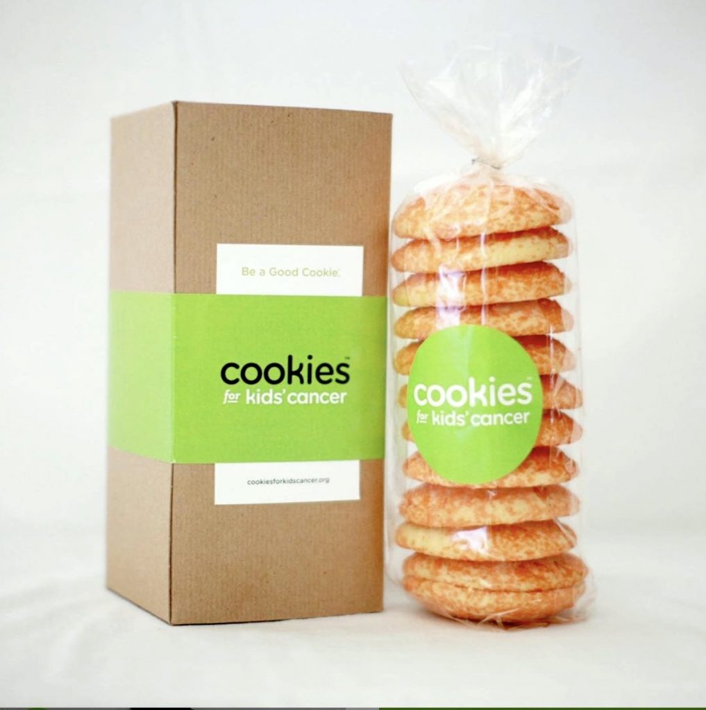 Gourmet gift boxes for dads: Kids for Cancer Cookie of the Month subscription supports pediatric cancer research