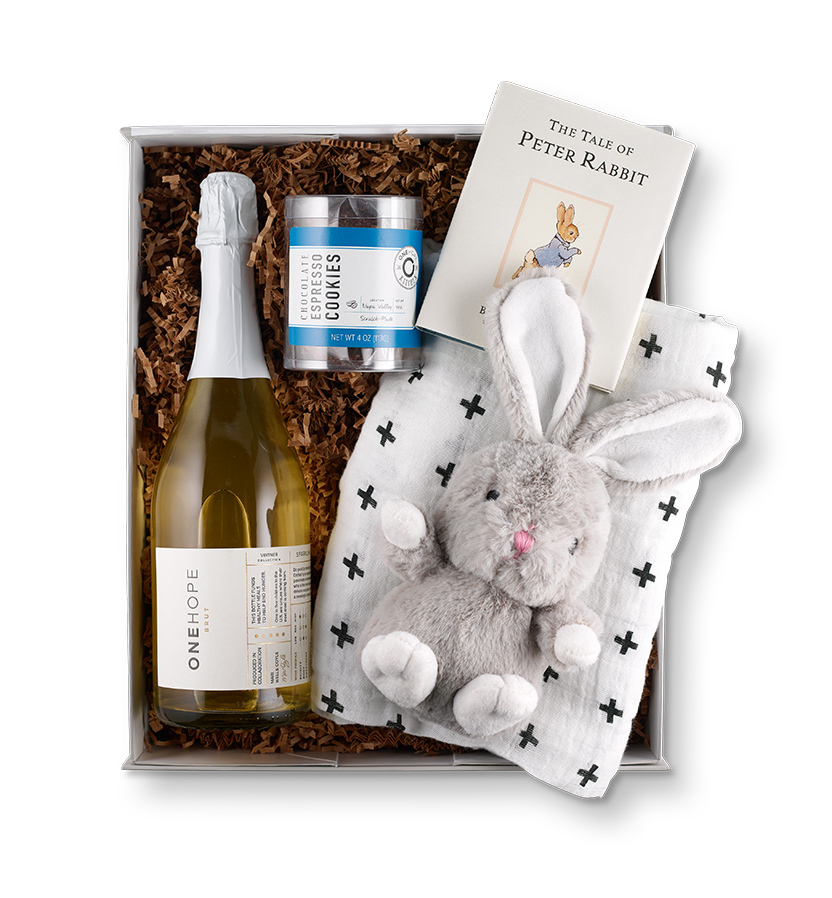 Gourmet gift boxes for Father's Day: The new dad gourmet gift box - something for him, something for the baby