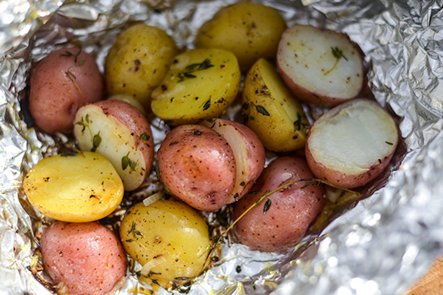 How to grill potatoes: 3 simple methods for a perfect summer side dish. Grilled Foil-Wrapped Potatoes | Joshua Bousel for Serious Eats