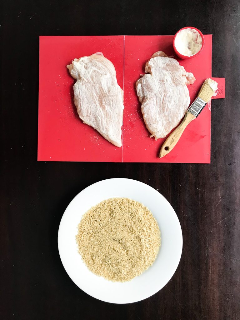 How to make chicken cutlets with a shortcut for easy weeknight dinners | © Jane Sweeney Cool Mom Eats