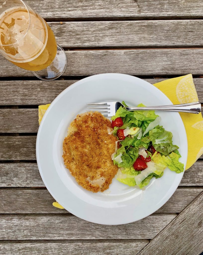 How to make chicken cutlets crispy and delicious in 10 minutes | © Jane Sweeney Cool Mom Eats