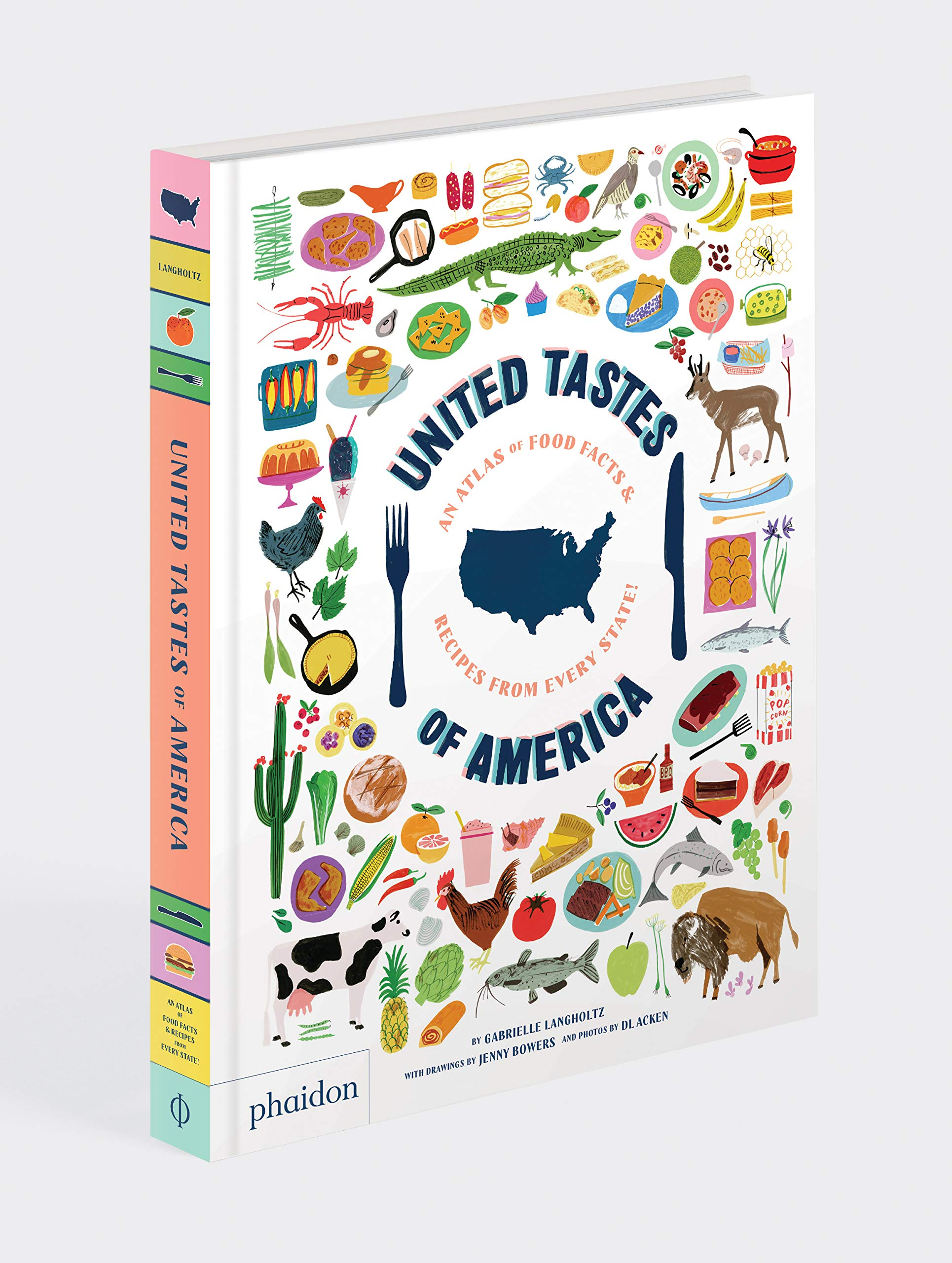 United Tastes of America: This state-by-state cookbook and atlas is the perfect road trip companion