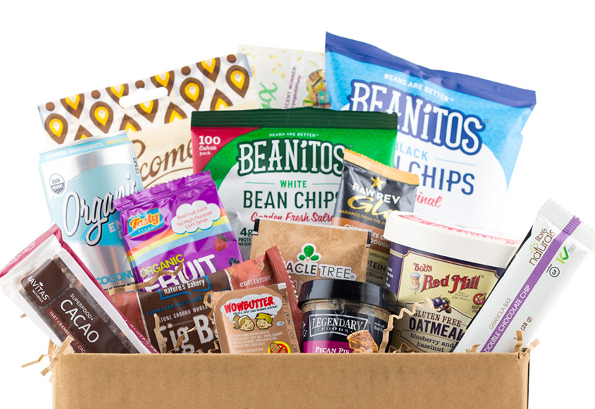 Gourmet gift boxes for dads: VeganCuts offers totally vegan and gluten-free gift boxes and subscriptions