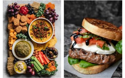 Weekly meal plan: 5 easy meals for the week ahead, including fun ideas like a burger upgrade and a party platter for dinner