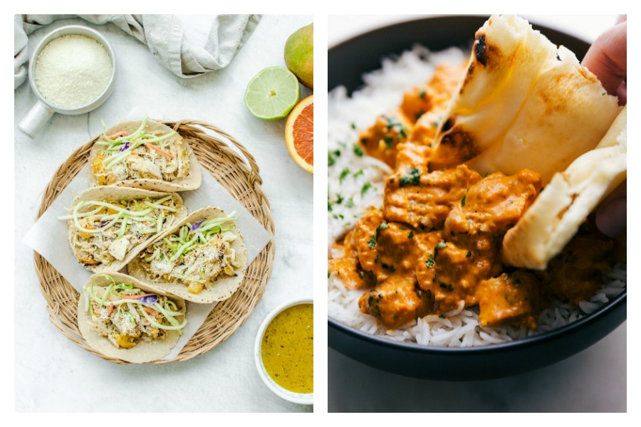 Weekly meal plan: 5 easy meals for the week ahead, including mango chicken tacos that will make you feel like you're at the beach