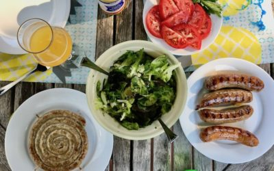 The best way to grill sausage for all your summer cookouts and barbecues.