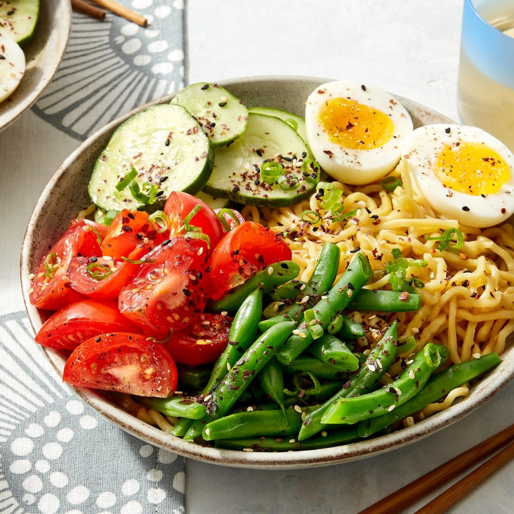 Cold soups for summer: Chilled ramen recipe from Blue Apron