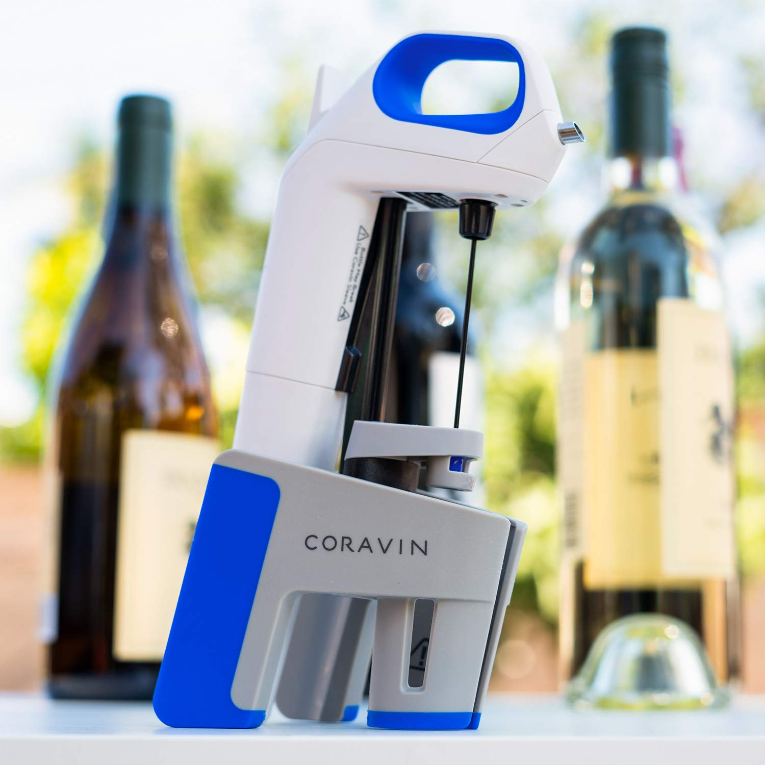 Coravin wine preservation system: A great last-minute food gift for dad you can get from Amazon Prime | coolmomeats.com