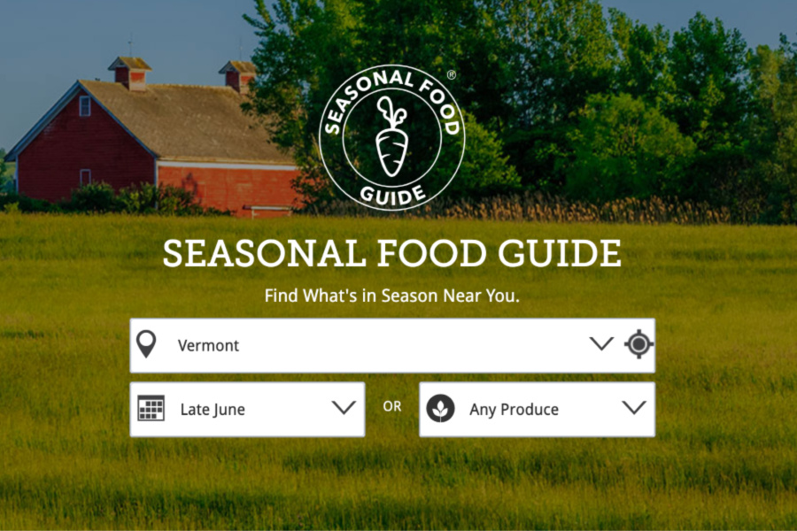 This fantastic website helps you find the best produce in season by state