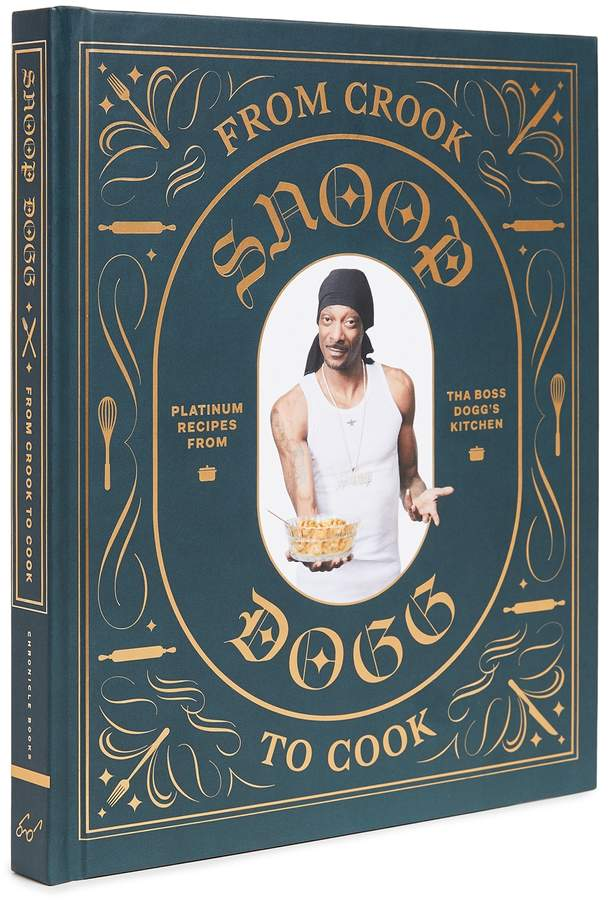 Last minute food gifts for dad: a great cookbook, like Snoop Dogg's From Crook to Cook