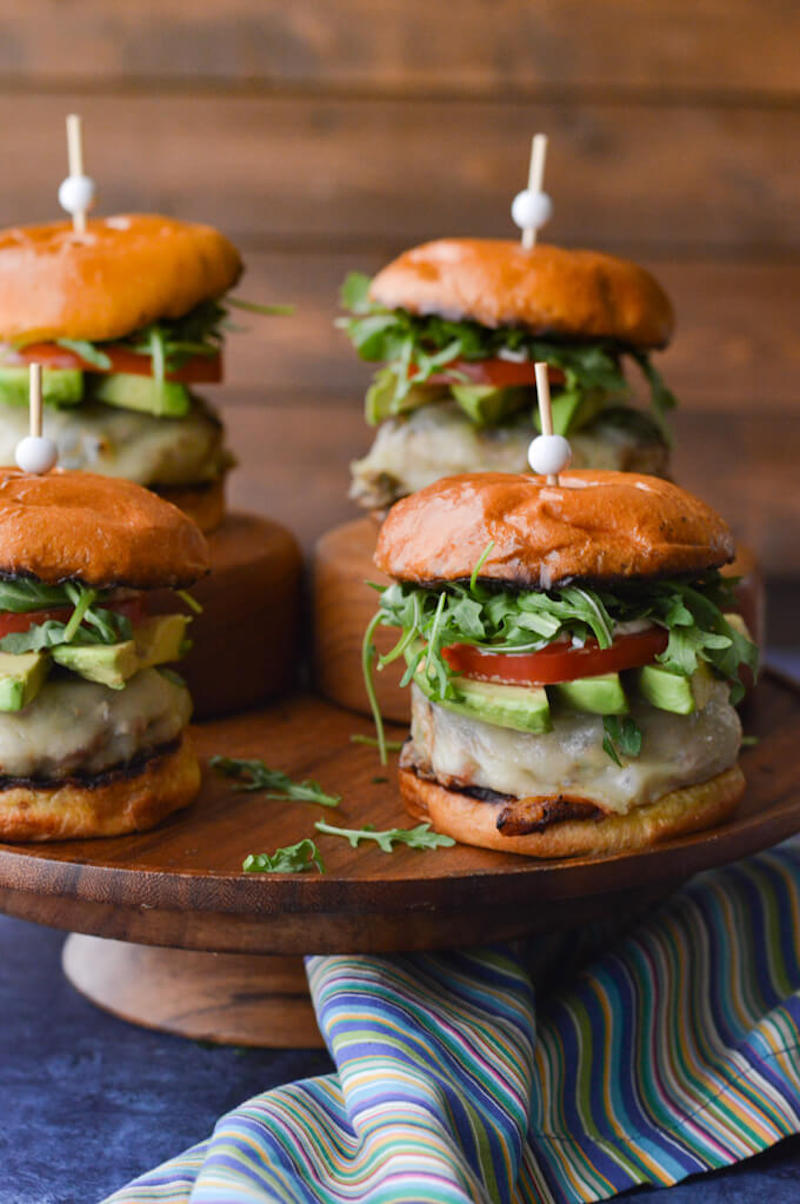 Weekly meal plan: Avocado Turkey Burgers at Linger a Little
