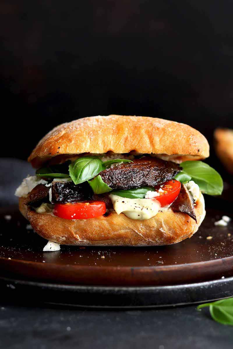 Weekly meal plan: Portobello Mushroom Sandwiches at The Last Food Blog