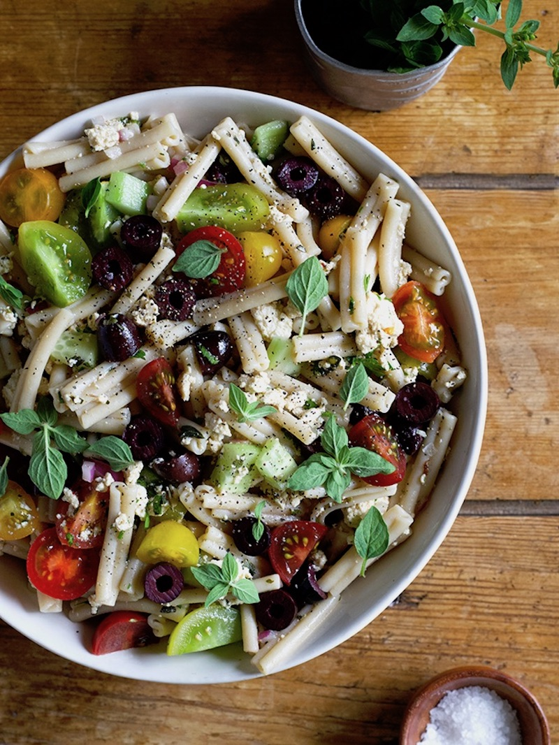 Weekly meal plan: Pasta Salad at Homegrown Provisions