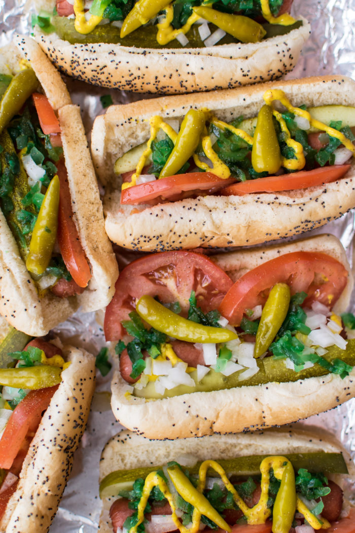 Weekly meal plan: Chicago Style Hot Dogs at Carolyn's Cooking