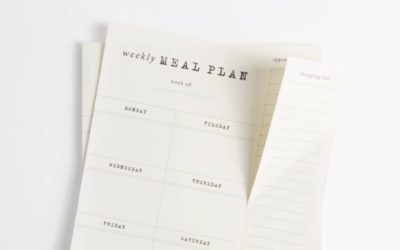 This easy weekly meal planner notepad helps end the pain. (Or okay, minimizes it just a bit)