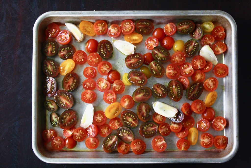 How to use overripe tomatoes: slow roast them and use in a number of ways! © Jane Sweeney Cool Mom Eats