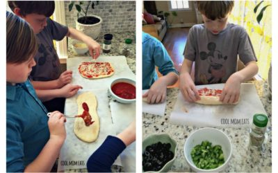 "Weekly meal plan: 5 easy meals the kids can help cook…because ""they're bored."""