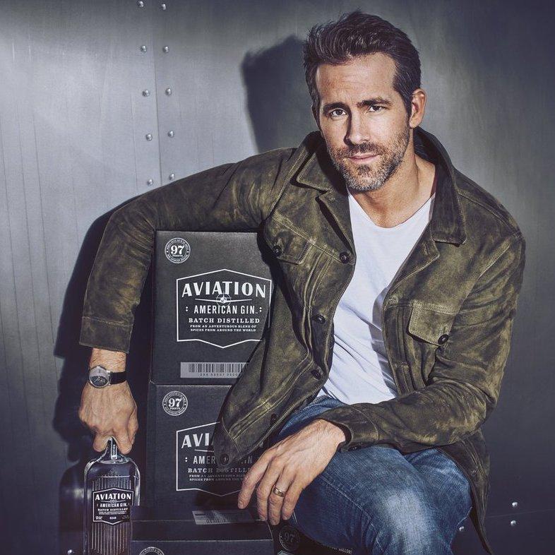 Aviation Gin from Ryan Reynolds