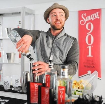 Justin Timberlake's Sauza 901 tequila
