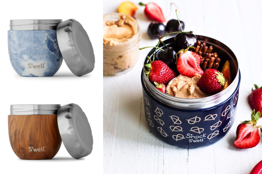 New S'well S'nack containers just made lunch time more S'tylish.