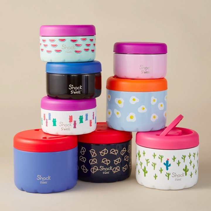S'well S'nack new insulated food containers for kids