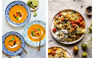 Weekly meal plan: 5 easy meals using August's in-season produce