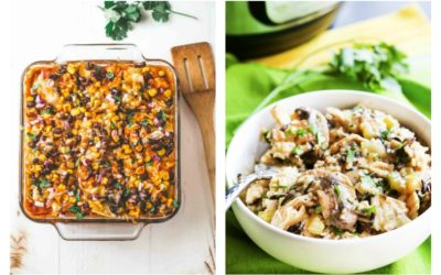 Weekly meal plan: 5 easy meals for busy back-to-school weeknights.