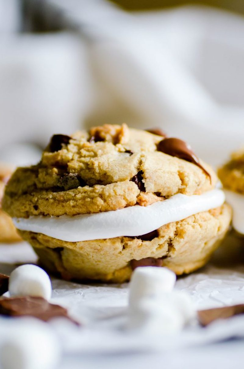 Weekly meal plan: S'mores Cookies at Something Swanky