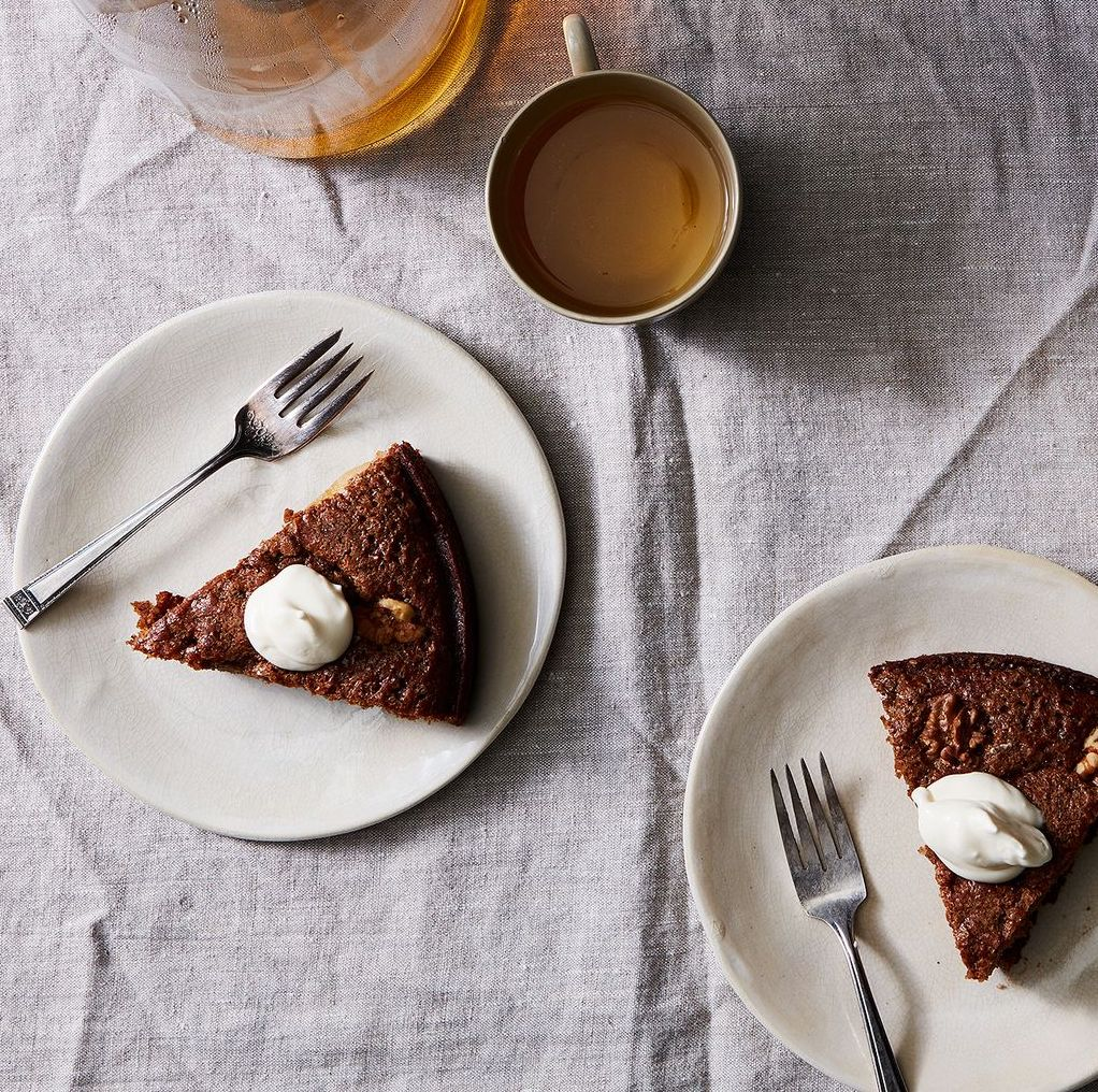 Apple recipes for Rosh Hashanah: Ginger Apple Torte at Food 52