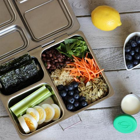 Superfood salad idea from PlanetBox eco-friendly bentos