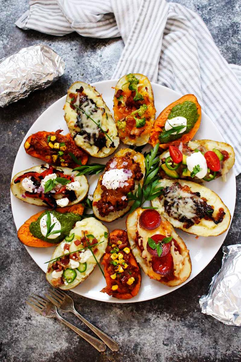 Weekly meal plan: DIY Baked Potatoes at Platings & Pairings