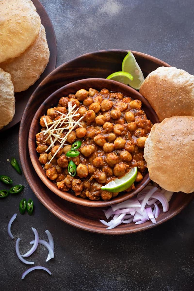 Weekly meal plan: Chana Masala at Cubes 'n Juliennes