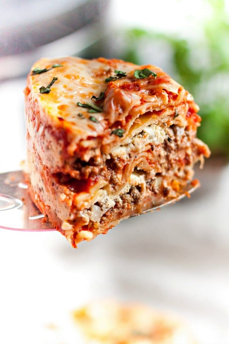 Weekly meal plan: Instant Pot Lasagna at Spaceships and Laserbeams