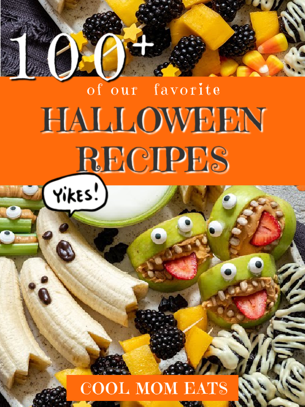 100+ of our favorite Halloween recipes, treats, dinners, cocktails and more! | Cool Mom Eats