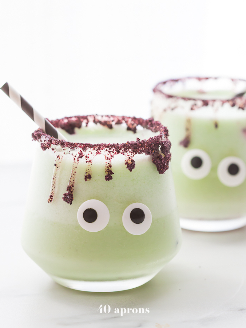 Halloween Cocktails: Monster Margaritas at 40 Aprons