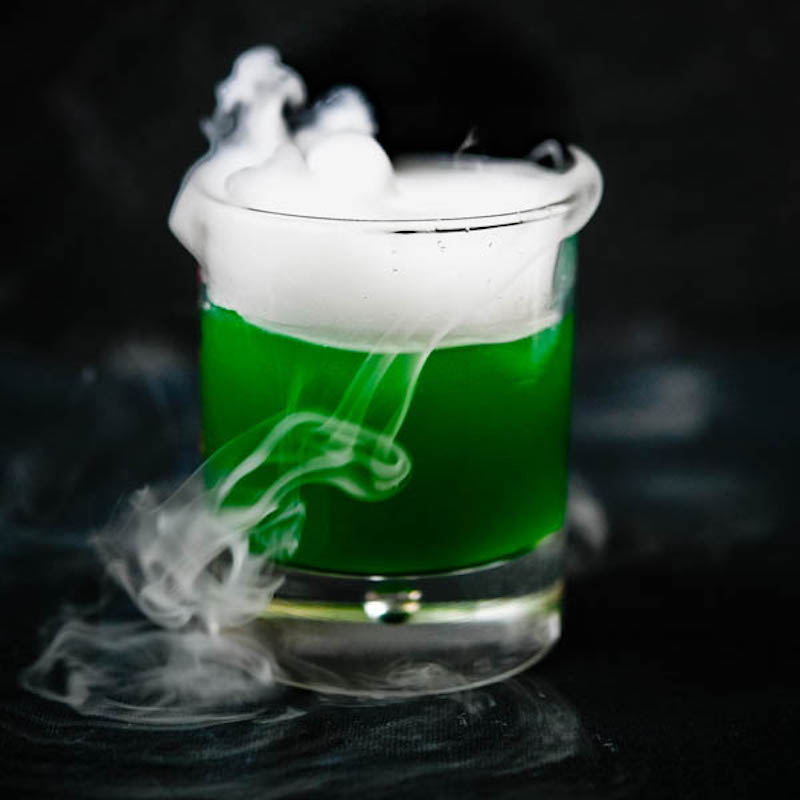 Halloween cocktails: Swamp Gasses at Garlic & Zest