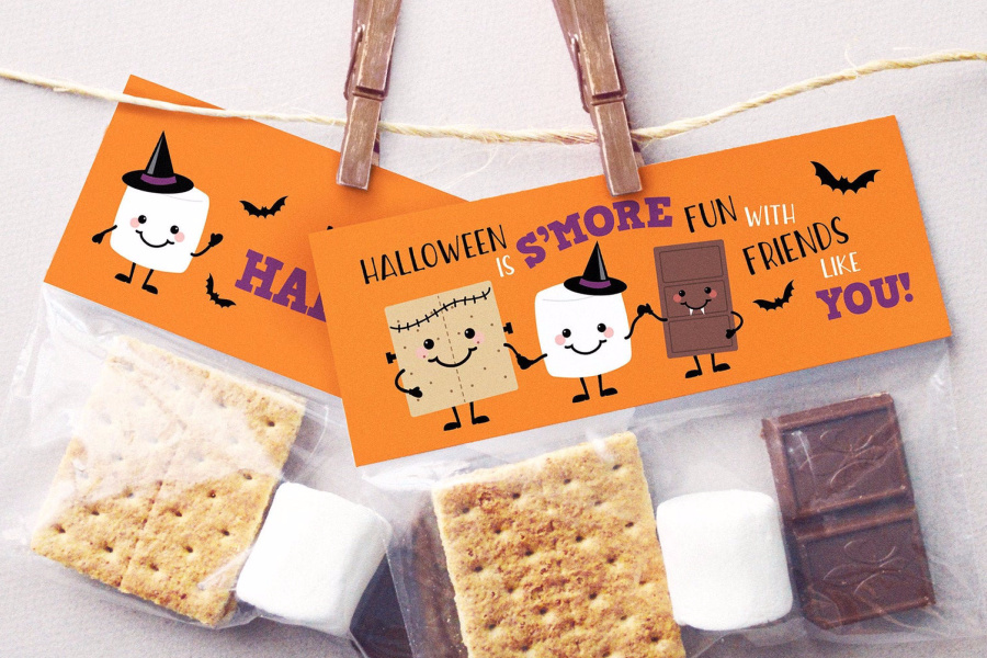 Halloween treats for a class party: 7 easy ways to go when you're That Busy Parent. (i.e. all of us.)