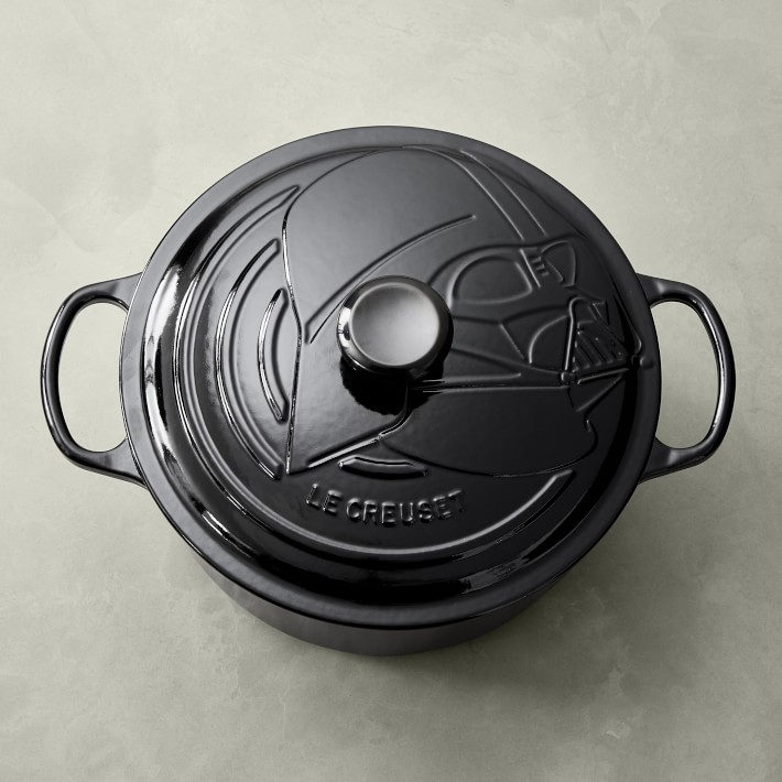 Le Creuset Darth Vader Dutch Oven from the new Star Wars collection