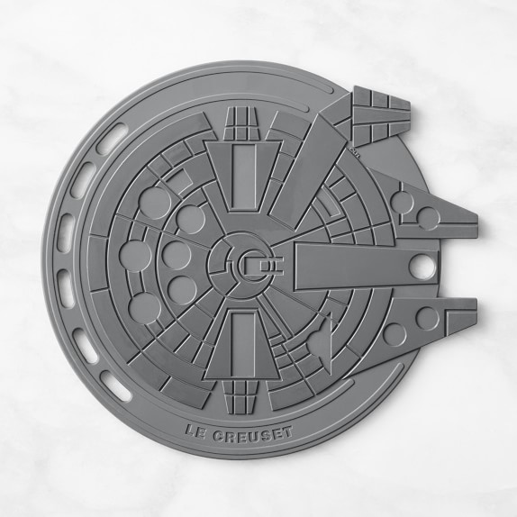 Le Creuset Star Wars collection: An affordable silicone Millennium Falcon trivet