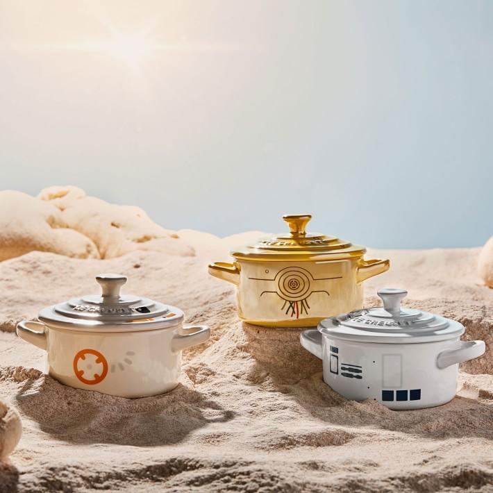 Le Creuset Star Wars collection: Droid mini cocottes