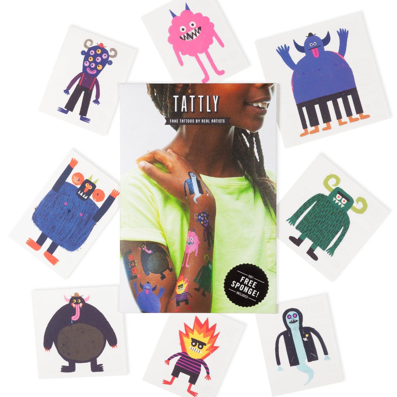 Non-candy Halloween treats like Tattly's Halloween tattoos make Halloween more inclusive