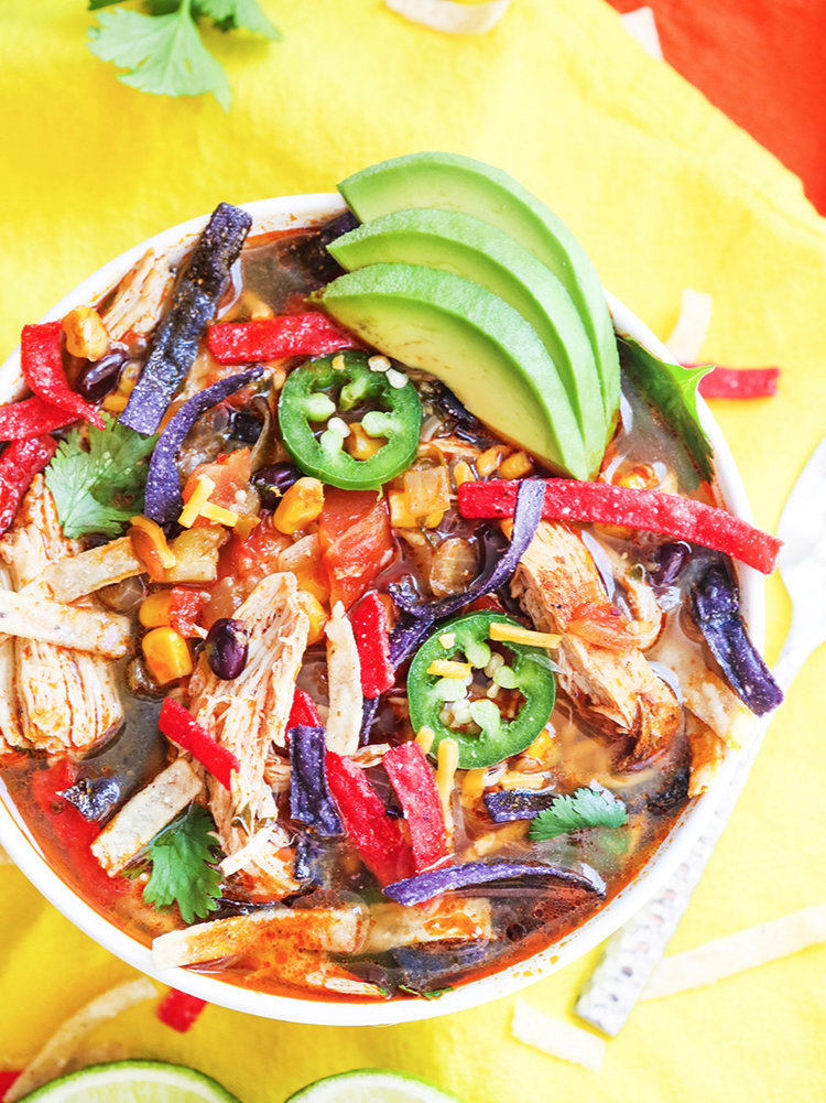 Weekly meal plan: Tortilla Soup at Pip & Ebby