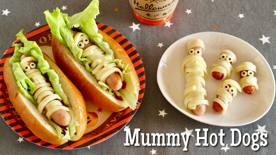 Weekly Meal Plan: Mummy Hot Dogs at Create Eat Happy