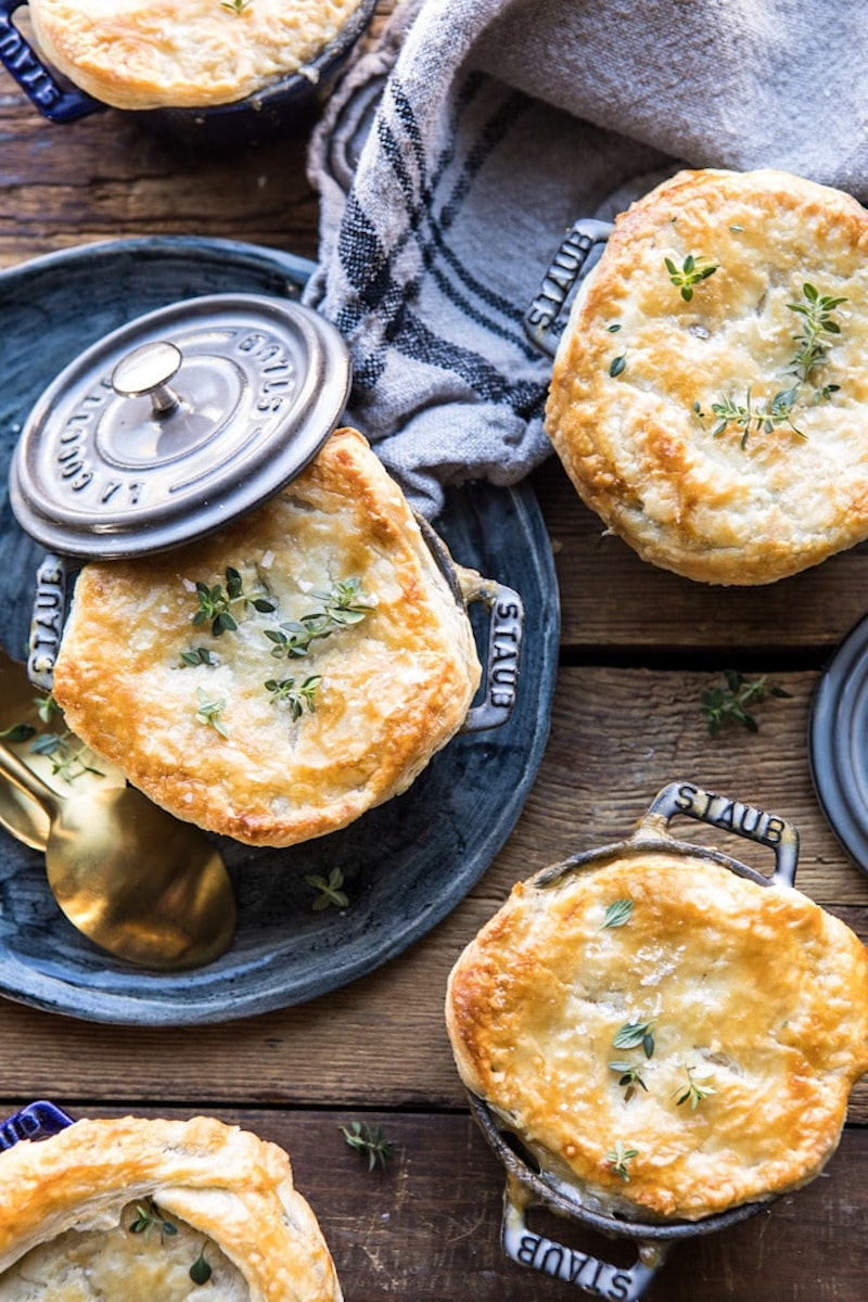 Weekly meal plan: Turkey & Wild Rice Pot Pie at Halfbaked Harvest