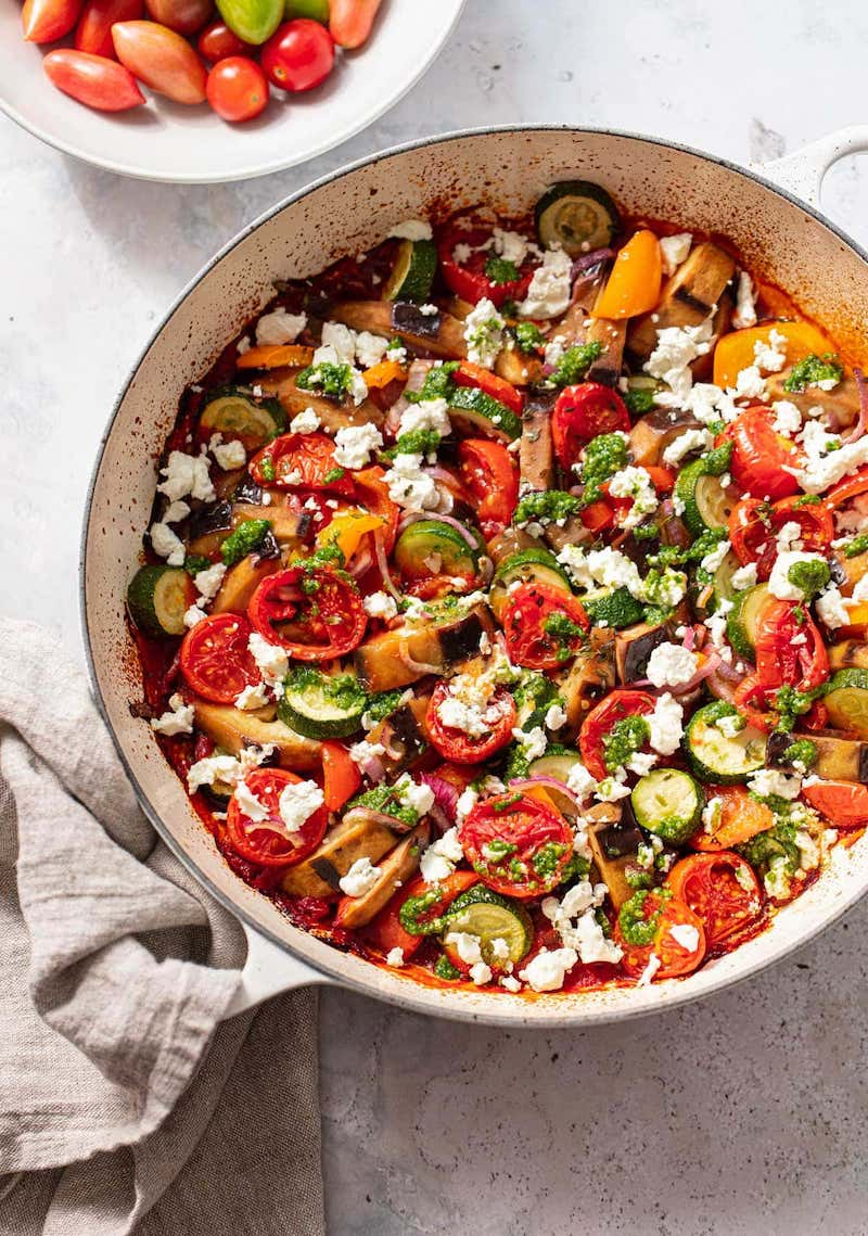 Weekly meal plan: Ratatouille at Family Style Food