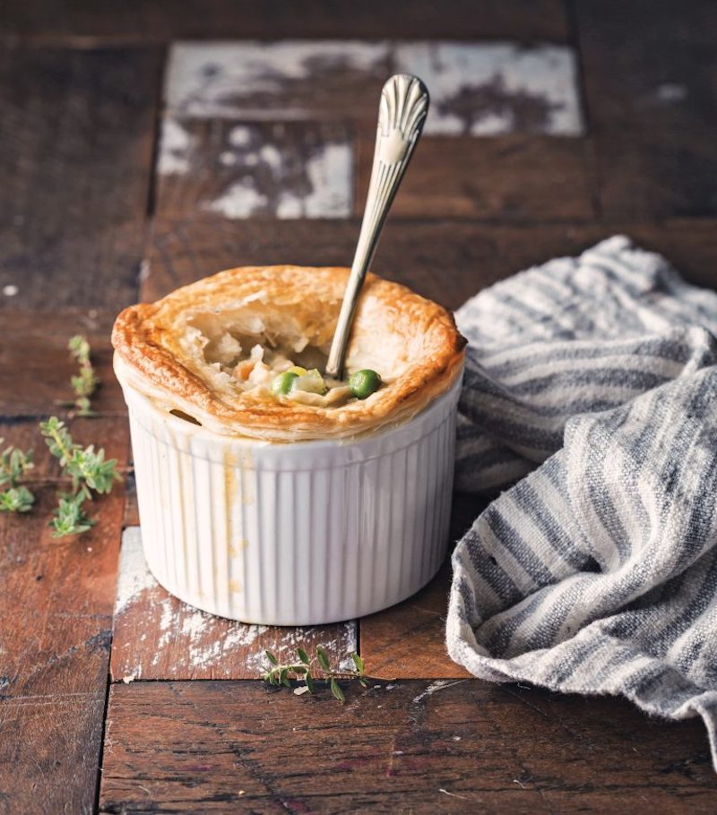 Weekly meal plan: Vegetable Pot Pie at Hello Veggie